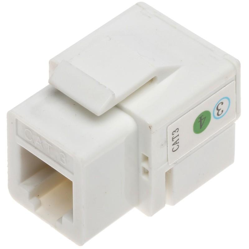 Cuplă telefonică RJ11 Keystone FX-RJ11 (4 pini)