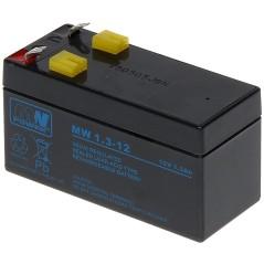 ACUMULATOR 12V/1.3AH-MW