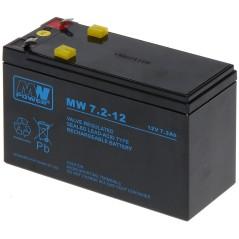 ACUMULATOR 12V/7.2AH-MW