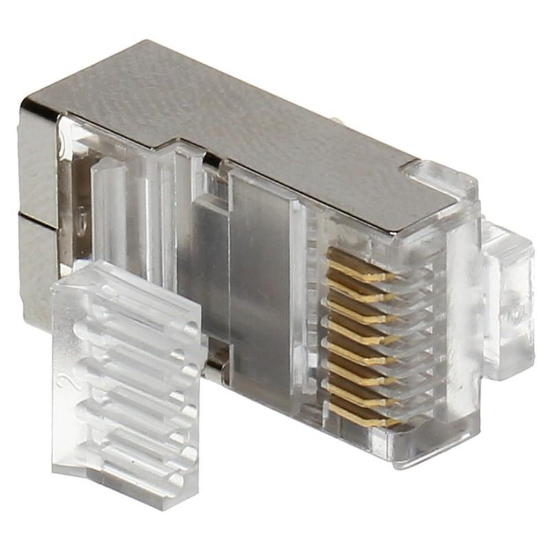 Mufă FTP Cat.6 ecranată RJ45/6-EKRAN(10 buc)
