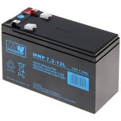 ACUMULATOR 12V/7.2AH-MWP