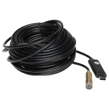 CAMERĂ USB DE INSPECŢIE WIRE-CAM-15 STANDARD: USB