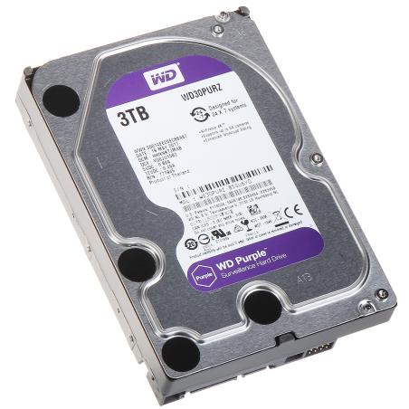HARD PENTRU DVR HDD-WD30PURZ 3TB 24/7 WESTERN DIGITAL