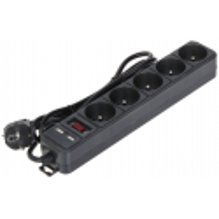 PRIZĂ MULTIPLĂ AK-SP-05U (5 PRIZE + 2 USB) AKYGA
