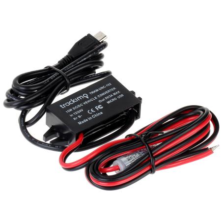 CONVERTOR DC 24/12V TRACKIMO-12-24V/5V micro USB Trackimo