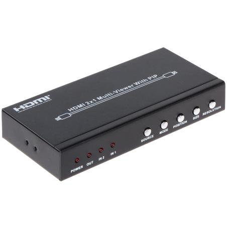 MATRICE VIDEO HDMI-SW-2/1-PIP