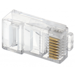 Mufă UTP (pini cu 3 lamele) Cat.5 RJ45/53(10 buc)