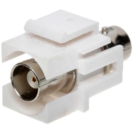 CUPLĂ modulară BNC Keystone FX-BNC2 (alb)