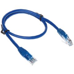 PATCHCORD RJ45/0.5-BLUE 0.5 m