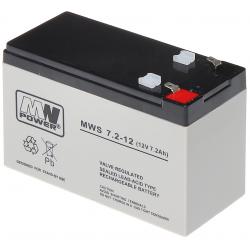 ACUMULATOR 12V/7.2AH-MWS