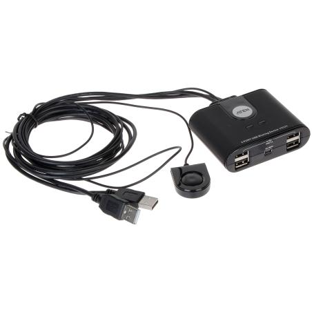 SWITCH KWM USB + HUB USB US-224 2 X 115 cm