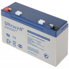 ACUMULATOR 6V/12AH-UL ULTRACELL