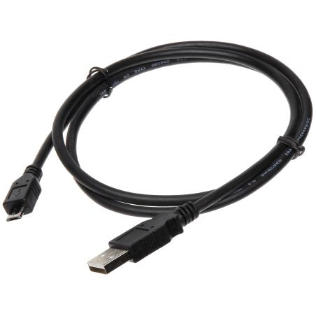 CABLU USB-W-MICRO/USB-1M/B 1 m
