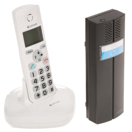 INTERFON WIRELESS CU FUNCȚIE DE TELEFON D102W COMWEI