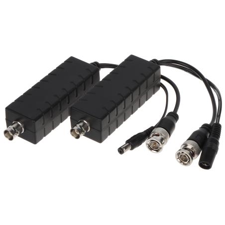 SET TELEALIMENTARE CCTV PE CABLU COAXIAL POC-H201
