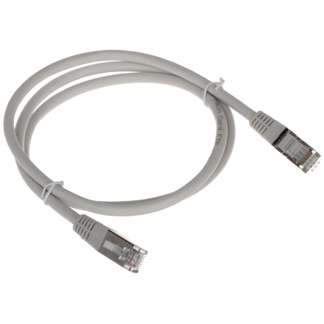 PATCHCORD RJ45/FTP6/1.0-GY 1.0 m