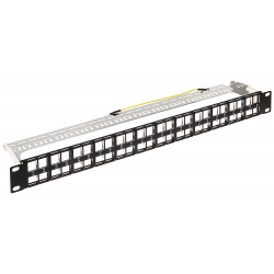 PATCH PANEL KEYSTONE PP-48/FX/C