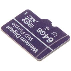 CARD DE MEMORIE SD-MICRO-10/64-WD UHS-I, SDHC 64 GB Western Digital