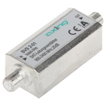 AMPLIFICATOR SAT SVS-2-01 20 dB AXING