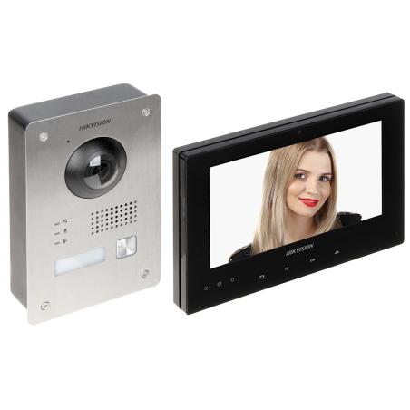 KIT INTERFON VIDEO DS-KIS701-B-D HIKVISION