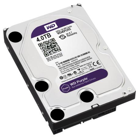 HARD PENTRU DVR HDD-WD40PURX 4TB 24/7 WESTERN DIGITAL