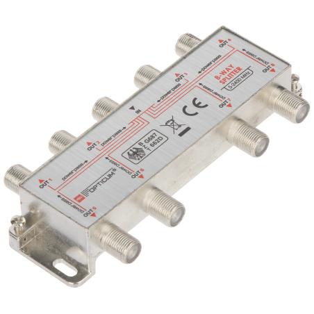 SPLITTER RI-8/1F-SAT-OPTI OPTICUM