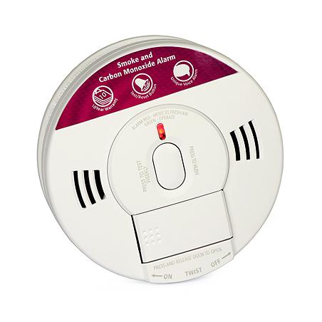 Detector de fum și monoxid de carbon Kidde 10SCO (memorie, alarmă vocală)